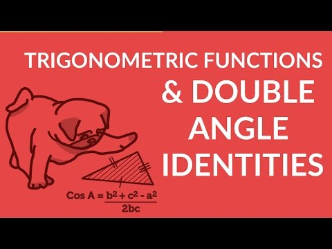 Solving Trigonometric Functions With Double Angle Identities W Easy T