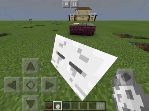 How to Make a Spinner in Minecraft PE