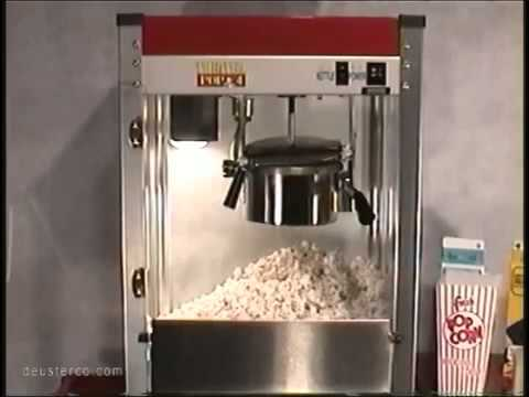 How to use and clean a Popcorn Machine