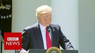 Trumps pulls US out of Paris climate deal - BBC News