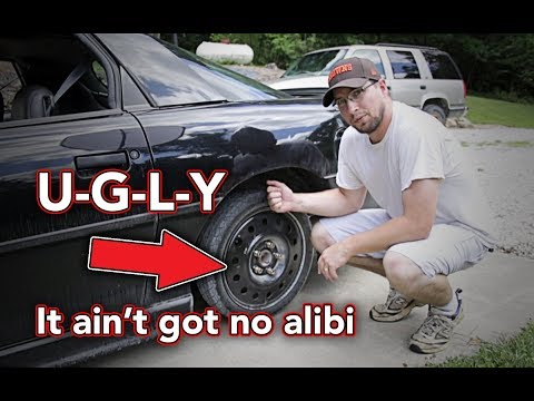 Spare tires are so ugly - I have an idea - Spare tire like a BOSS!