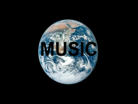 Music will save the Earth