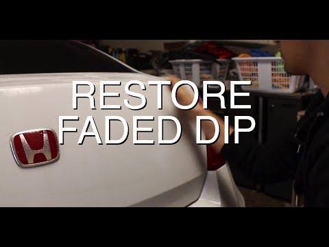 DIY: Restore Faded PlastiDip for Under $5