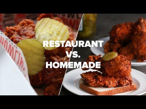 Xxx Mp4 Restaurant Vs Homemade Nashville Style Hot Chicken 3gp Sex
