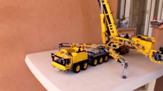 Rc Moc Lego Technic 42009 Gru Liebherr Ltm 1750 91 The Most
