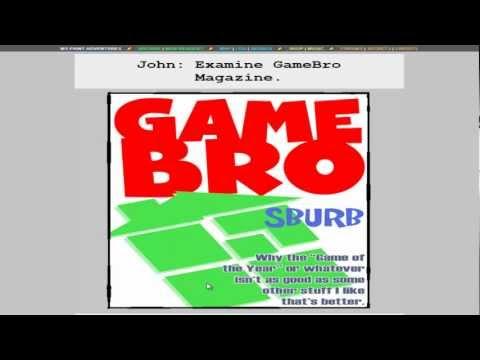 Fiirst Time Reading Homestuck Part 3 - Burning the GameBro Magazine