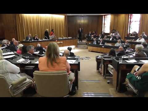 Gateshead Council Annual Meeting and appointment of mayor 18 May 2018