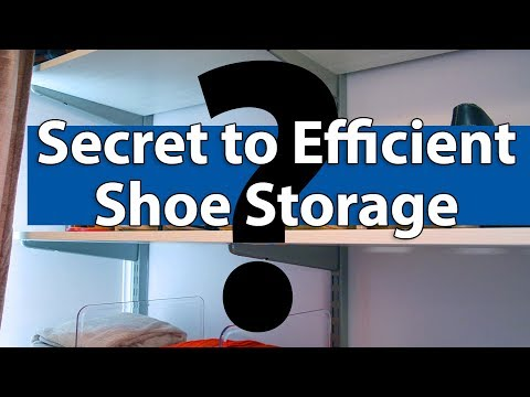 The Secret to Efficient Shoe Storage