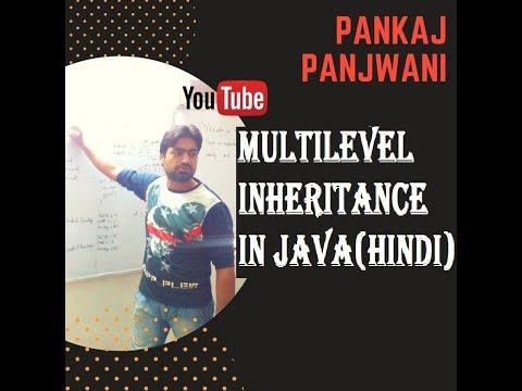 Multilevel Inheritance in Java By Pankaj Panjwani (YCT Academy) | Hindi