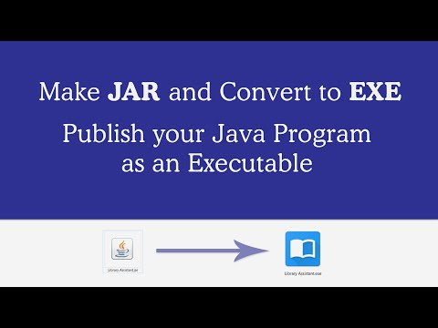 How to Make Executable (exe) for Java Application with Launch4J