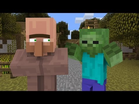 Minecraft | How to Cure a Zombie Villager [1.7.9]