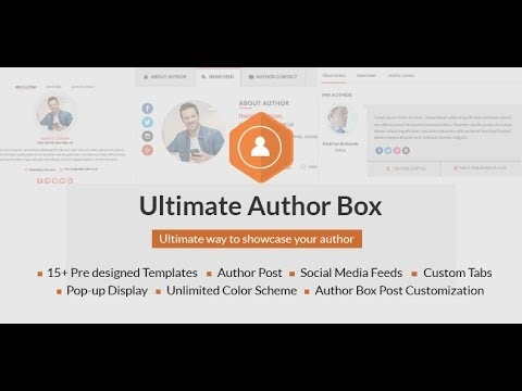 How to add custom templates for individual authors