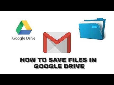 How to save documents in your google drive