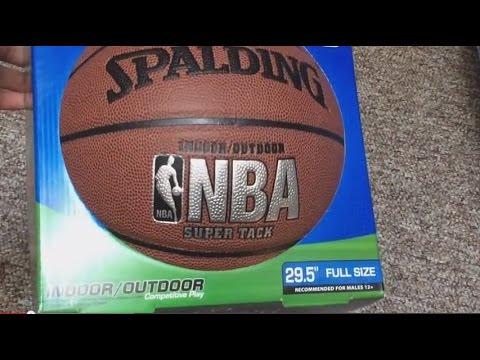Spalding NBA SUPER TACK Basketball Review