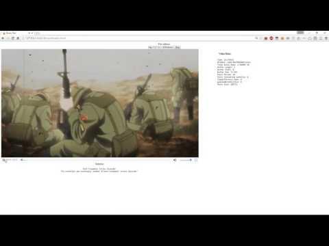 JavaScript - real time subtitle parsing from Matroska (mkv) files
