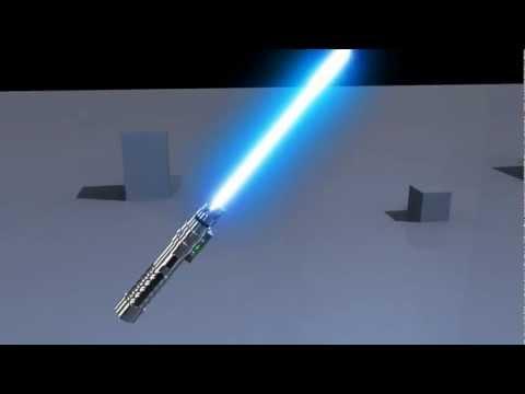 SEK - 3D Lightsaber Animation - Maya - 720p