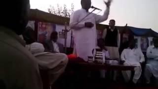 Nadeem Afzal chan great speech at NA 64 kalas sharief