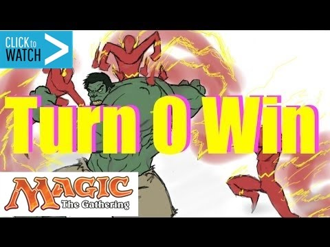 Turn 0 Win - BEST Magic the Gathering Deck Ever
