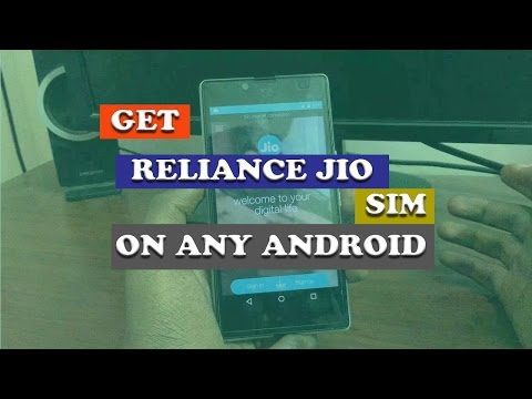 Get Reliance Jio For Any Android Phone 😎✌️