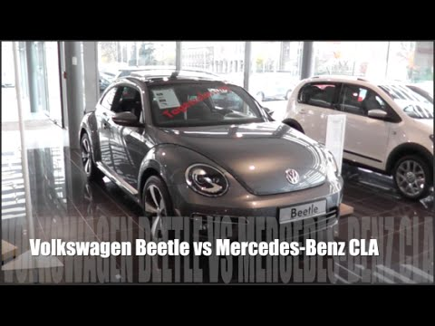 Volkswagen Beetle 2015 vs Mercedes-Benz CLA 2015