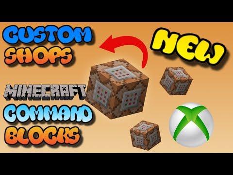 Minecraft Xbox One Command Block Custom Shops