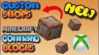 Minecraft: Xbox One/MCPE - Command Block Scoreboard Shop
