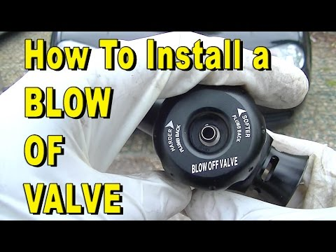How to Install a Dump Valve / Blow Off Valve BOV
