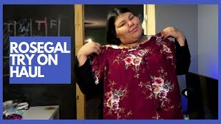 Plus Size Rosegal Haul | Try-on