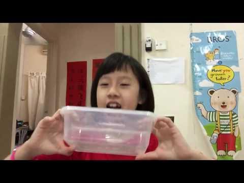 Clear slime update video! Super cool