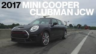 Mini Clubman JCW Hot Lap at VIR | Lightning Lap 2017 | Car and Driver