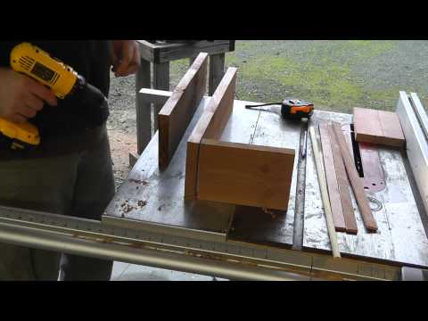 Build a Simple Wooden Box For Your Grow Pots