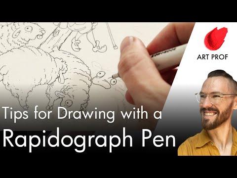 Art Supplies: Rapidograph Pen / ART PROF