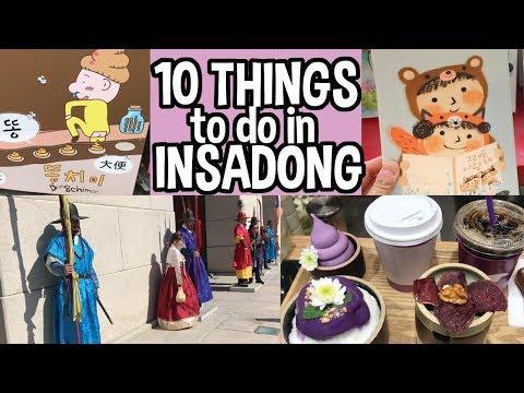 🤔10 Best Things to do in Insadong[인사동 거리], Samcheongdong, & Bukchon Hanok Village