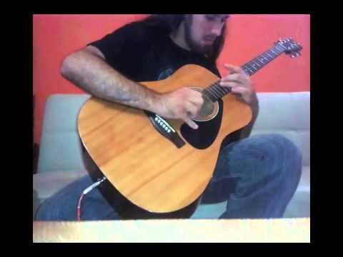 RockLand - Green tinted sixties mind [Mr. Big] Instrumental Cover in Acoustic Guitar