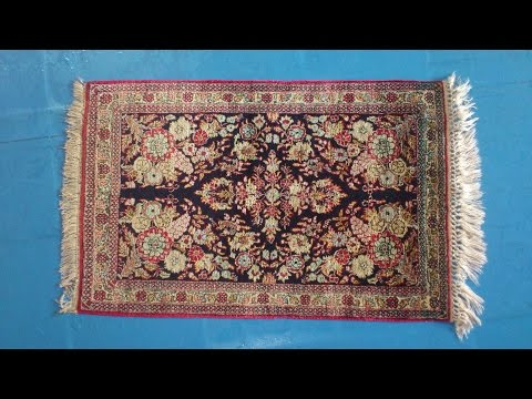 Professional Silk Rug Cleaning: Hand Wash 4