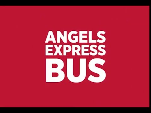 Ride the Angels Express Bus to Angel Stadium