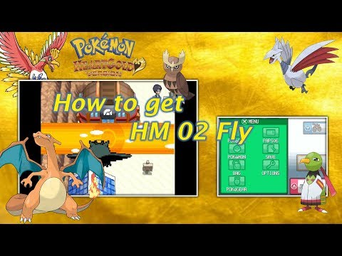 How to get HM 02 Fly -- Pokemon Heart Gold