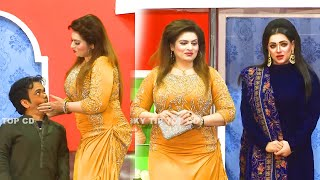 Vicky Kodu and Saira Mehar with Mehak Noor   New Stage Drama 2020   Ishq Beparwah   Comedy Clip 2020