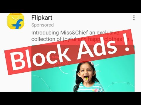 How To Block/Remove Ads From Facebook App(News Feed)-Stop Pop-up Ads On Messenger-2018