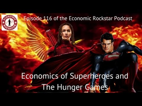 116: Brian O'Roark on The Economics of Superheroes and The Hunger Games