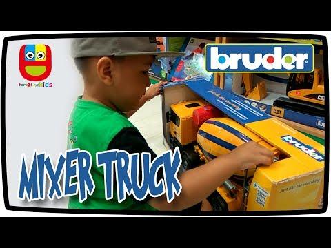 Beli Mainan Mobil Molen Besar Di Toko Mainan Bruder Toys Cement Mixer Truck Construction