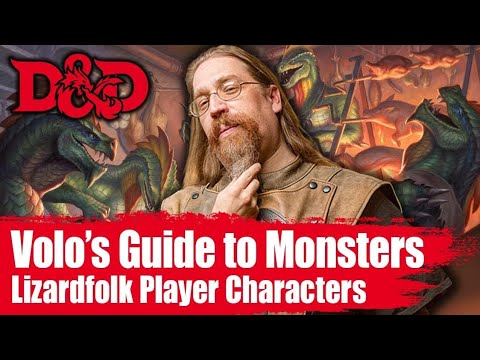 Lizardfolk 🐊 Player Race for 5th Edition Dungeons & Dragons from Volo's Guide To Monster