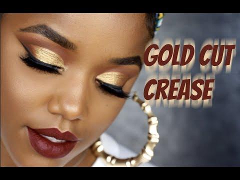 Gold Cut Crease & First Impressions | Ellarie