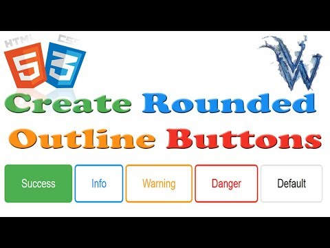 HTML5 and CSS3 Beginners Tutorials |  Border Around Button Html On Hover By Amazing Techno Tutorials