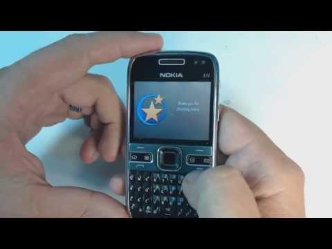 Nokia E72 factory reset