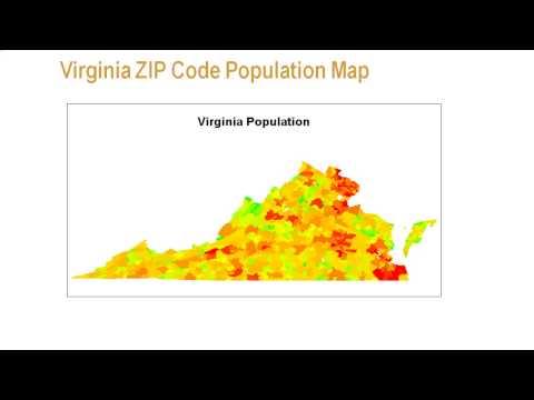 Creating ZIP Code-Level Maps with SAS