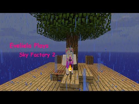 Minecraft: Sky Factory 2 E12 - Rubber Trees