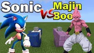 Sonic vs Majin Boo | Minecraft PE