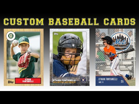 Create Your Own Baseball Cards