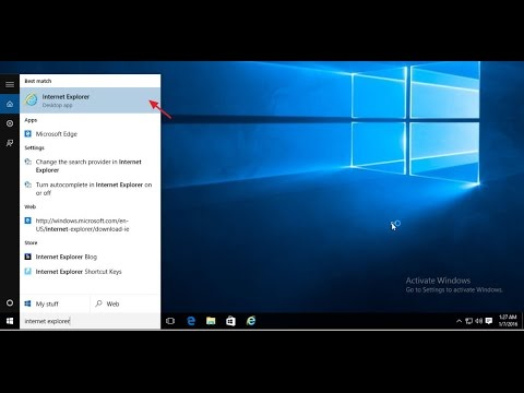 How to find classic Internet Explorer on Windows 10